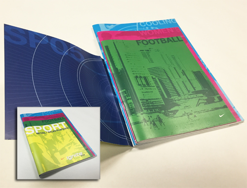 Tandem Stitched Booklets With Removable Glue