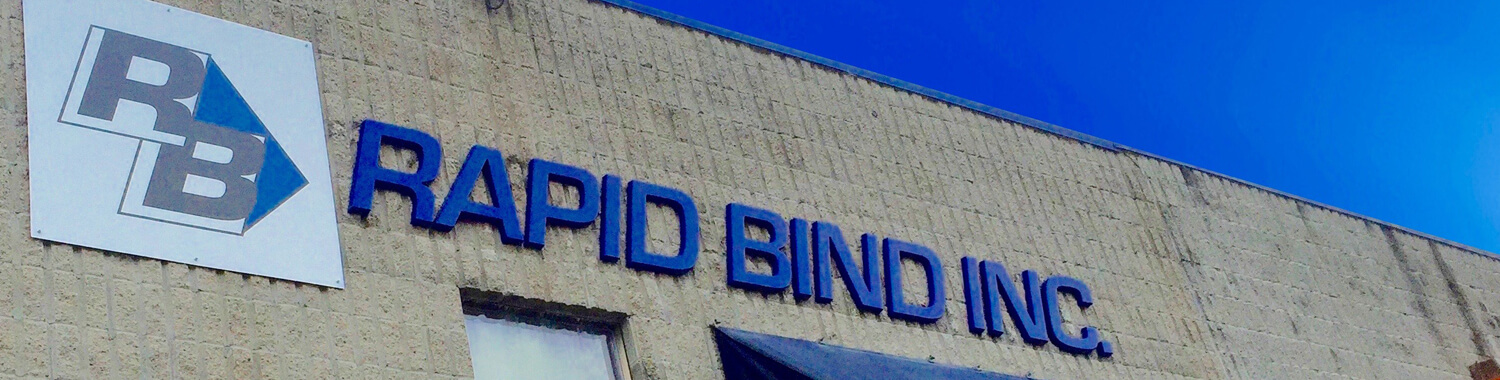 Rapid Bind: Binding & Finishing Excellence