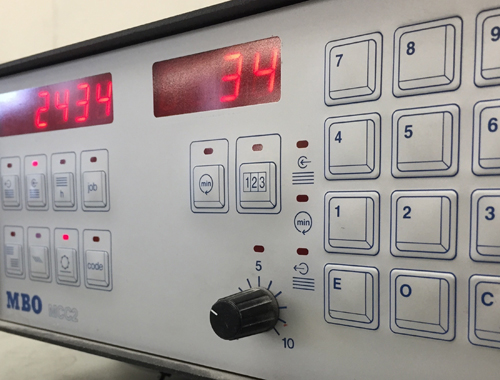 Equipment counter