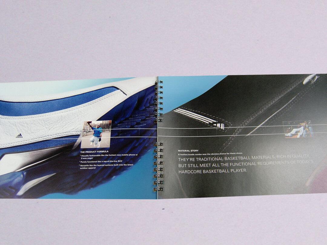 Split Wire-O bound book